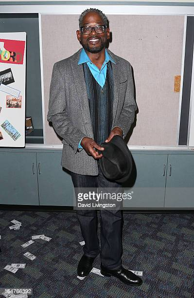 Actor Terrence 'TC' Carson attends a surviving cast screening of Stanley Kramer's 'It's a Mad Mad Mad Mad World' at California State University...