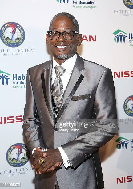 Actor Terrence 'TC' Carson attends the Faithful Central Bible Church Event on October 19 2012 in Century City California