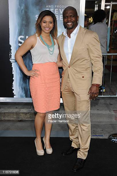 Actor Terry Crews and daughter Azriel Crews arrive at the premiere of Paramount Pictures' Super 8 at Regency Village Theatre on June 8 2011 in...