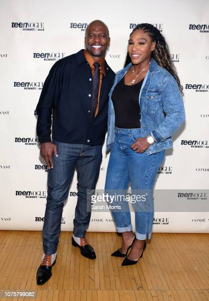 5cb72775f5a Actor Terry Crews and tennis player Serena Williams attend the Teen Vogue  Summit at 72andSunny on