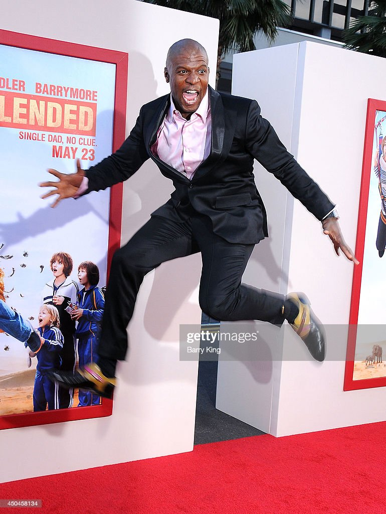 Actor Terry Crews arrives at the Los Angeles Premiere 'Blended' on May 21, 2014 at TCL Chinese Theatre in Hollywood, California.