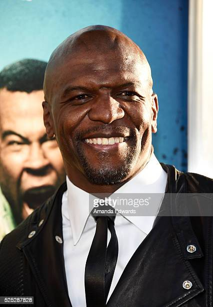 Actor Terry Crews arrives at the premiere of Warner Bros' Keanu at the ArcLight Cinemas Cinerama Dome on April 27 2016 in Hollywood California