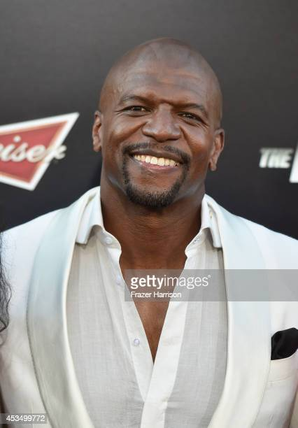 Actor Terry Crews attends Lionsgate Films' 'The Expendables 3' premiere at TCL Chinese Theatre on August 11 2014 in Hollywood California