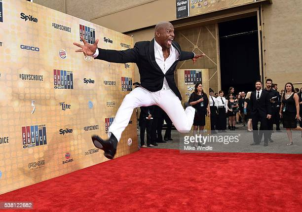 Actor Terry Crews attends Spike TV's 10th Annual Guys Choice Awards at Sony Pictures Studios on June 4 2016 in Culver City California