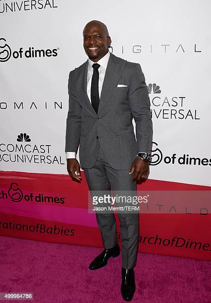Actor Terry Crews attends the 2015 March Of Dimes Celebration Of Babies at the Beverly Wilshire Four Seasons Hotel on December 4, 2015 in Beverly...