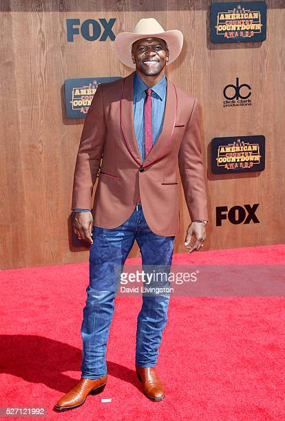 Actor Terry Crews attends the 2016 American Country Countdown Awards at The Forum on May 01 2016 in Inglewood California