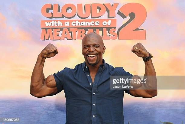 Actor Terry Crews attends the Cloudy With A Chance Of Meatballs 2 Photo Call at Four Seasons Hotel Los Angeles at Beverly Hills on September 15 2013...