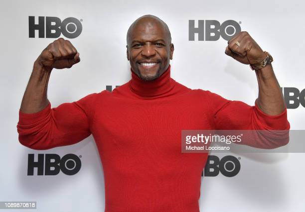 Actor Terry Crews attends the HBO Me Too Panel at Sundance 2019 at Tupelo on January 26 2019 in Park City Utah