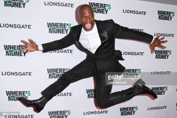 Actor Terry Crews attends the Premiere Of Lionsgate's Where's The Money at ArcLight Cinemas on October 18 2017 in Culver City California