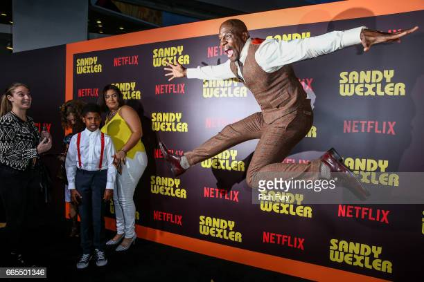 Actor Terry Crews attends the premiere of Netflix's 'Sandy Wexler' at the ArcLight Cinemas Cinerama Dome on April 6 2017 in Hollywood California