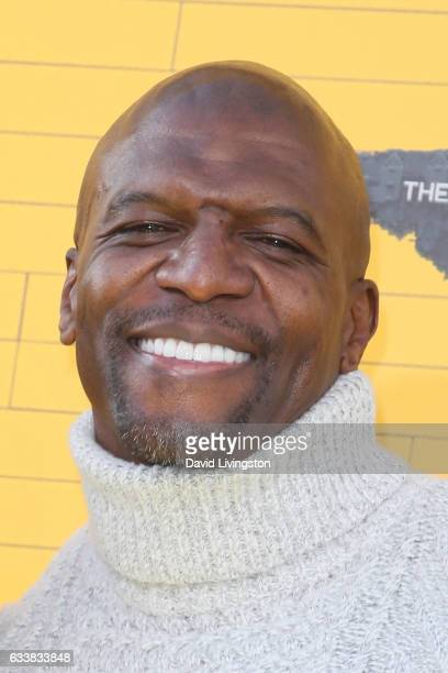Actor Terry Crews attends the Premiere of Warner Bros Pictures' The LEGO Batman Movie at the Regency Village Theatre on February 4 2017 in Westwood...