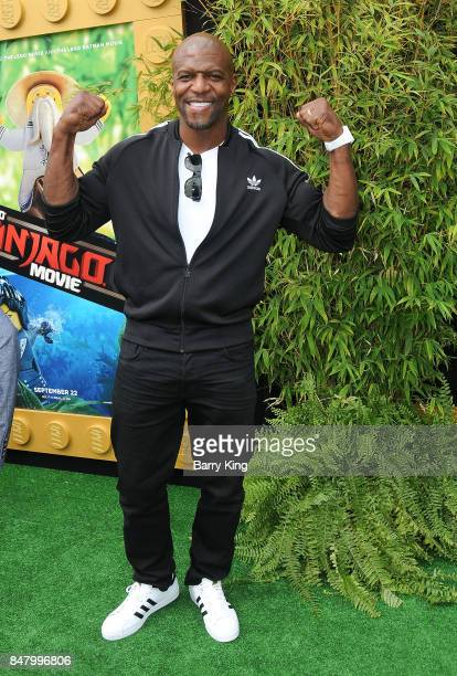 Actor Terry Crews attends the Premiere of Warner Bros Pictures' 'The LEGO Ninjago Movie' at Regency Village Theatre on September 16 2017 in Westwood...