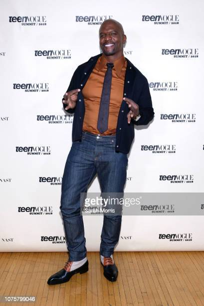 Actor Terry Crews attends the Teen Vogue Summit at 72andSunny on December 1, 2018 in Los Angeles, California.