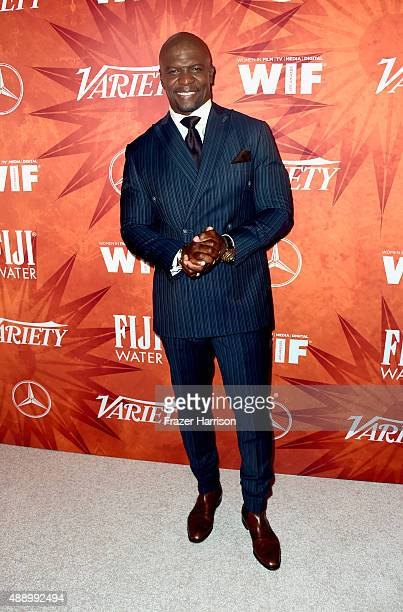 Actor Terry Crews attends the Variety and Women in Film Annual Pre-Emmy Celebration at Gracias Madre on September 18, 2015 in West Hollywood,...