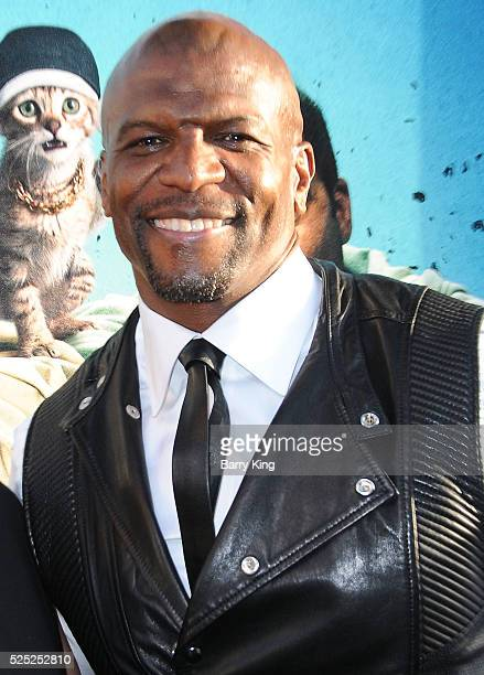 Actor Terry Crews attends the Warner Bros' premiere of 'Keanu' at ArcLight Cinemas Cinerama Dome on April 27 2016 in Hollywood California