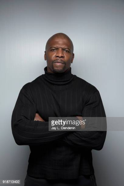 Actor Terry Crews from the film 'Sorry to Bother You' is photographed for Los Angeles Times on January 20 2018 in the LA Times Studio at Chase...