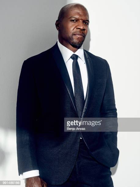 Actor Terry Crews is photographed for the Hollywood Reporter on October 27 2017 in Los Angeles California