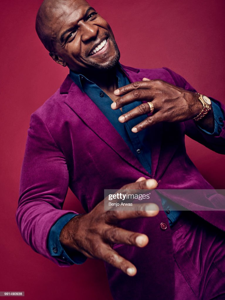 Actor Terry Crews is photographed for the Hollywood Reporter on October 27, 2017 in Los Angeles, California.