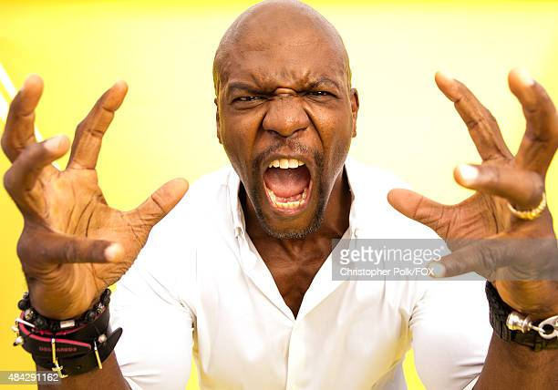 Actor Terry Crews poses for a portrait during the 2015 Teen Choice Awards FOX Portrait Studio at Galen Center on August 16 2015 in Los Angeles...