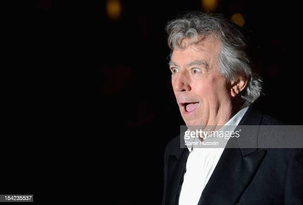 Actor Terry Jones attends A Liar's Autobiography premiere during the 56th BFI London Film Festival at the Empire Leicester Square on October 16 2012...