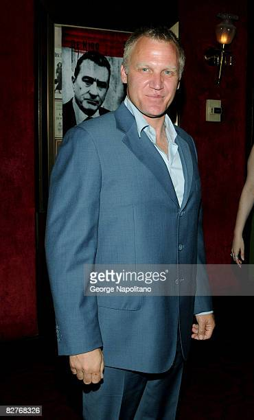 Actor Terry Serpico attends the New York premiere of 'Righteous Kill' at the Ziegfeld Theater on September 10 2008 in New York City