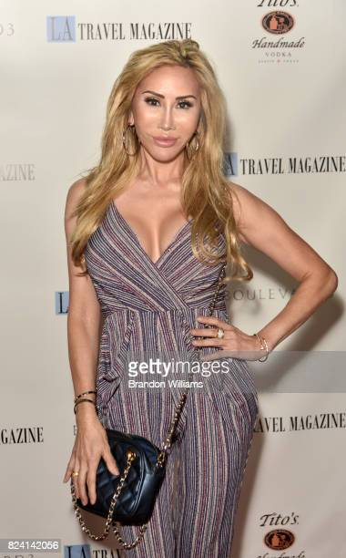 Actor Tess Broussard attends the party for the unveiling of Los Angeles Travel Magazin's 'Endless Summer' issue at Boulevard3 on July 28 2017 in...