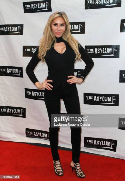 Actor Tess Broussard attends the premiere of The Asylum's 'The Fast And The Fierce' at Downtown Independent Theater on April 2 2017 in Los Angeles...