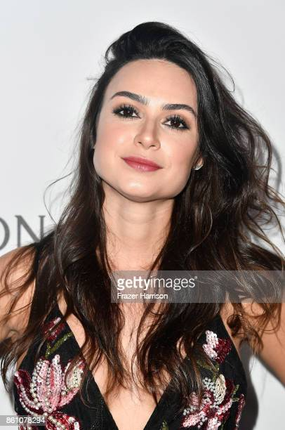Actor Thaila Ayala attends the amfAR Gala at Ron Burkle's Green Acres Estate on October 13 2017 in Beverly Hills California
