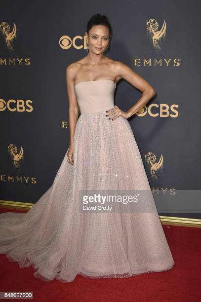 Actor Thandie Newton attends the 69th Annual Primetime Emmy Awards at Microsoft Theater on September 17 2017 in Los Angeles California
