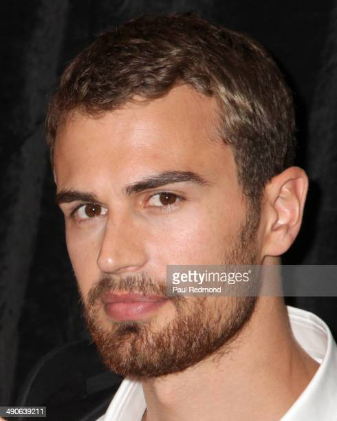 Actor Theo James attends The International Cinematographers Guild's 51st Annual Publicists Awards Luncheon at Regent Beverly Wilshire Hotel on...
