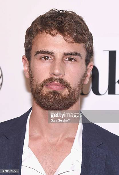 Actor Theo James attends the World Premiere Narrative Franny during the 2015 Tribeca Film Festival at BMCC Tribeca PAC on April 17 2015 in New York...
