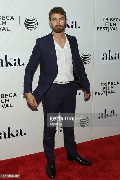 Actor Theo James attends the world premiere of 'Franny' during the 2015 Tribeca Film Festival at BMCC Tribeca PAC on April 17 2015 in New York City