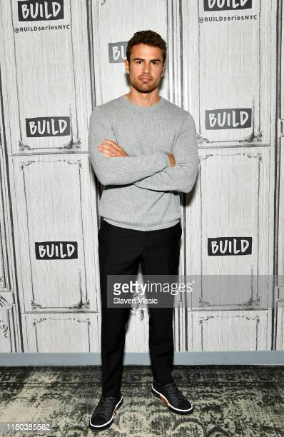 Actor Theo James visits Build Series to discuss crime drama Lying and Stealing at Build Studio on June 17 2019 in New York City