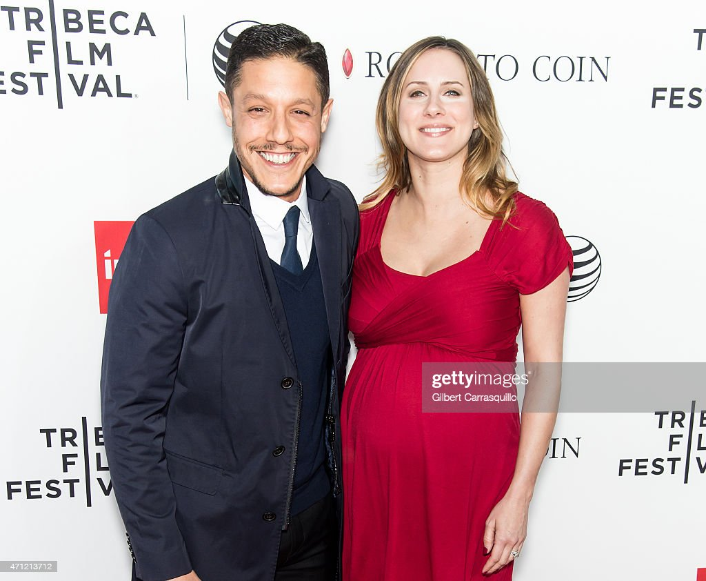 Actor Theo Rossi and Meghan McDermott attend the closing night screening of 'Goodfellas' during the 2015 Tribeca Film Festival at Beacon Theatre on April 25, 2015 in New York City.