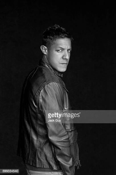 Actor Theo Rossi is photographed for Emmy Magazine on April 26 2012 in Los Angeles California PUBLISHED IMAGE