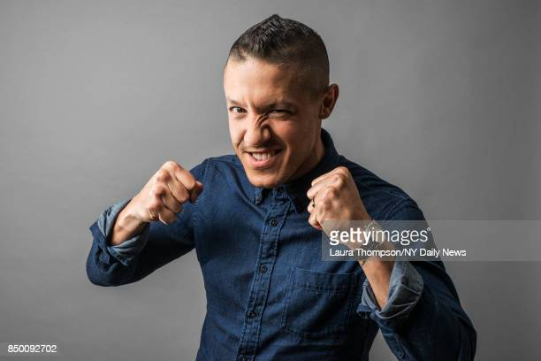 Actor Theo Rossi is photographed for NY Daily News on October 6 2016 at Comic Con in New York City CREDIT MUST READ Laura Thompson/New York Daily...