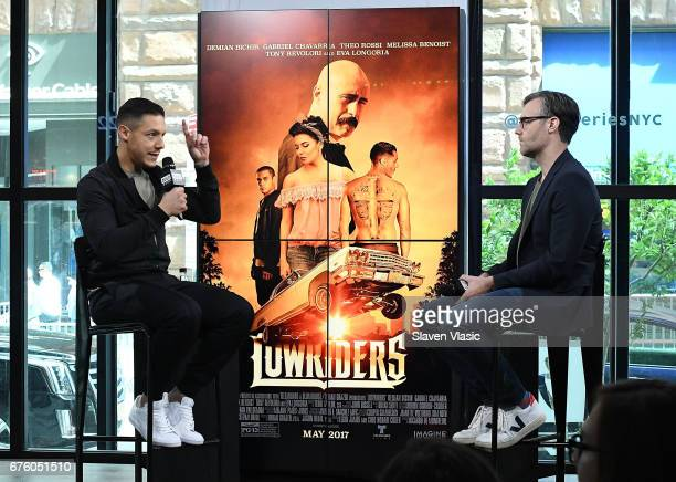 Actor Theo Rossi visits BUILD Series to discuss his new film 'Lowriders' at Build Studio on May 2 2017 in New York City