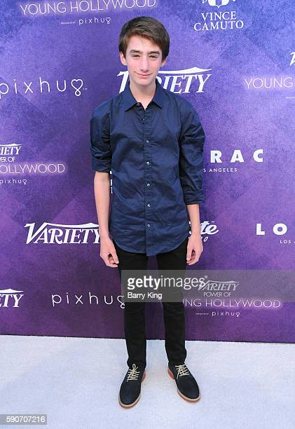 Actor Theo Taplitz attends Variety's Power of Young Hollywood event presented by Pixhug with platinum sponsor Vince Camuto at NeueHouse Hollywood on...