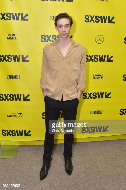 Actor Theodore Pellerin attends the premiere of 'First Light' during SXSW at Alamo Lamar on March 10 2018 in Austin Texas