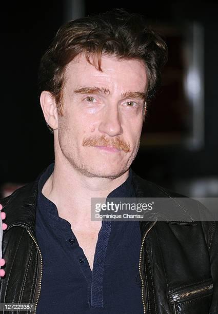 """Actor Thierry Frémont attends """"Un Heureux Evenement"""" premiere at UGC Cine Cite Bercy on September 26, 2011 in Paris, France."""