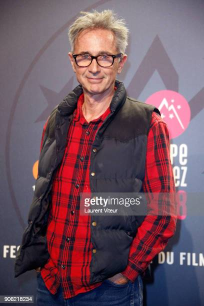 Actor Thierry Lhermitte attends 'La Finale' Premiere during the 21st Alpe D'Huez International Comedy Film Festival on January 17 2018 in Alpe d'Huez...