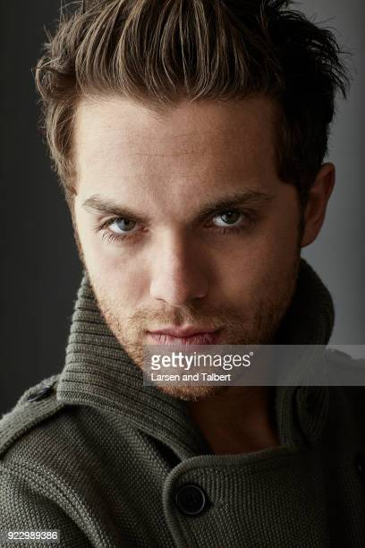 Actor Thomas Dekker is photographed for InStyle Magazine on January 23 2011 at the Sundance Film Festival in Park City Utah Photo by Larsen and...