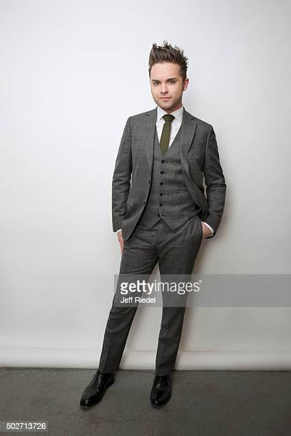 Actor Thomas Dekker is photographed for TV Guide Magazine on January 17 2015 in Pasadena California