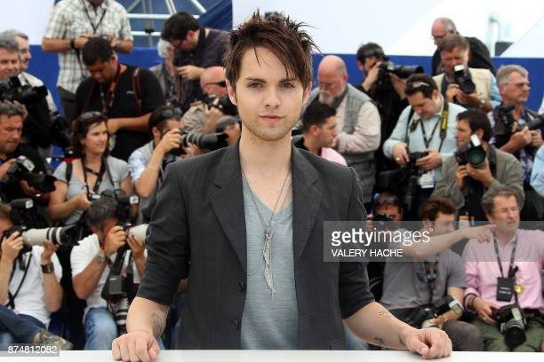 US actor Thomas Dekker poses during the photocall of 'Kaboom' presented out of competition at the 63rd Cannes Film Festival on May 15 2010 in Cannes...