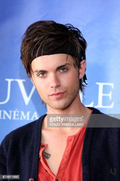 US actor Thomas Dekker poses during the photocall of the movie 'Kaboom' presented out of competition at the 36th American Film Festival in Deauville...