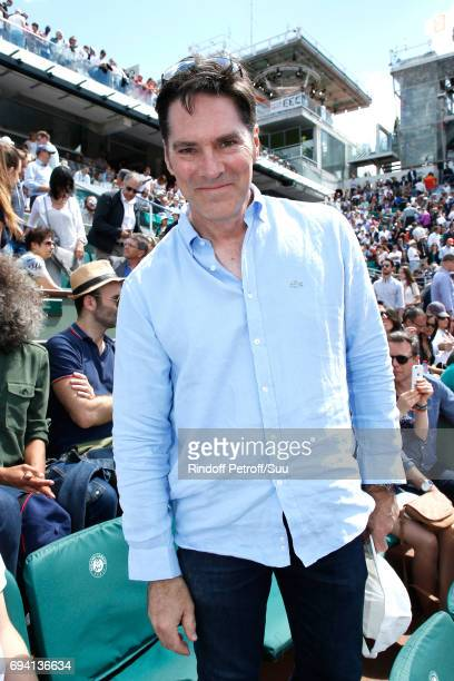 Actor Thomas Gibson attends the 2017 French Tennis Open Day Thirteen at Roland Garros on June 9 2017 in Paris France