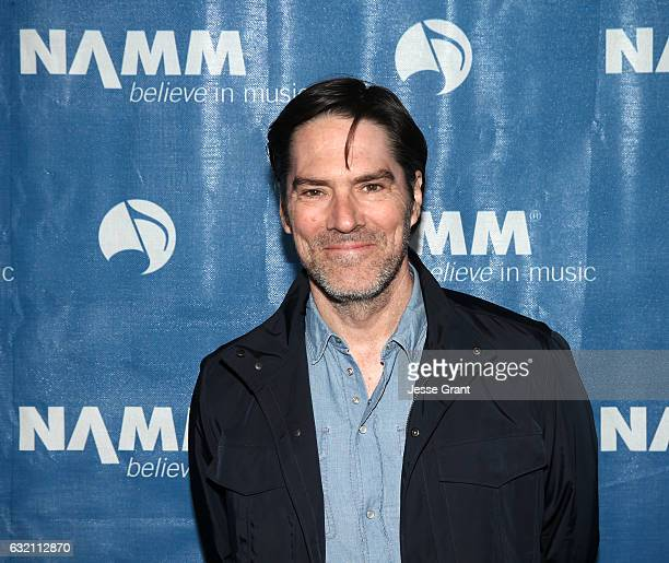 Actor Thomas Gibson attends the 2017 NAMM Show Opening Day at Anaheim Convention Center on January 19 2017 in Anaheim California