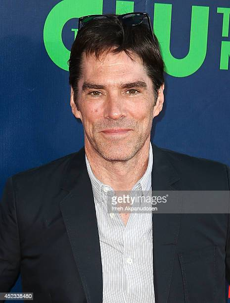 Actor Thomas Gibson attends the CBS The CW Showtime CBS Television Distribution's 2014 TCA Summer Press Tour Party at Pacific Design Center on July...