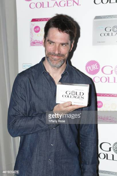 Actor Thomas Gibson attends the GBK Pilot Pen PreGolden Globe Gift Lounge on January 11 2014 in Beverly Hills California
