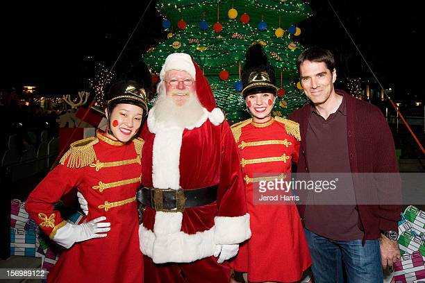 Actor Thomas Gibson attends the LEGOLAND California Holiday Snow Days and Winter Nights 2012 tree lighting ceremony at LEGOLAND on November 26 2012...